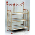 Princess Bow Iron Changing Table, Baby Changing Table | Changing Tables With Drawers | ABaby.com