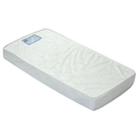 Emily II 2 Sided 260 Coil Crib Mattress With Borderwire, Coil Crib Mattresses | Coil Mattresses | ABaby.com