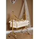 Exquisite Brass Cradle, Iron Bassinet | Iron Cradle | ABaby.com