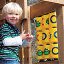 Tic Tac Toe Panel, Kids Swing Set Accessories |Outdoor Swing Sets | ABaby.com