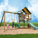 Andover Swing Set, Outdoor Toys | Kids Outdoor Play Sets | ABaby.com