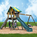 Easton Swing Set, Outdoor Toys | Kids Outdoor Play Sets | ABaby.com