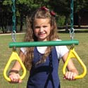 Ring Trapeze, Kids Swing Set Accessories |Outdoor Swing Sets | ABaby.com