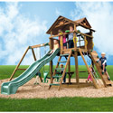 Stockbridge Swing Set, Outdoor Toys | Kids Outdoor Play Sets | ABaby.com