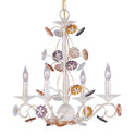 Crystal Rosettes Chandelier, Nursery Chandeliers | Baby Chandeliers | ABaby.com