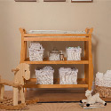 DaVinci Emily Changer II, Wicker Changing Tables | Wood Changing Tables | ABaby.com