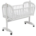 DaVinci Futura Baby Cradle, Wooden Bassinet | Antique Cradles | ABaby.com