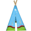 6' Eco Teepee, Outdoor Playhouse | Kids Play Houses | Kids Play Tents | ABaby.com