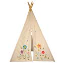 Flower Blossom Teepee, Outdoor Playhouse | Kids Play Houses | Kids Play Tents | ABaby.com