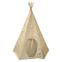 Powwow Lodge Round Door Teepee, Outdoor Playhouse | Kids Play Houses | Kids Play Tents | ABaby.com