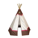 Western 6' Teepee, Outdoor Playhouse | Kids Play Houses | Kids Play Tents | ABaby.com