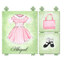 Baby Doll Wall Art Collection, Girls Wall Art | Artwork For Girls Room | ABaby.com