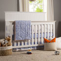 Perse 4-in-1 Convertible Crib, Classic Nursery Cribs | Discount Cribs | ABaby.com