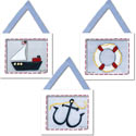 Ship Accessories Wall Hangings, Nursery Wall Art | Baby | Wall Art For Kids | ABaby.com