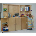 Whitney Deluxe Wall System, Baby Bookshelf | Kids Book Shelves | ABaby.com