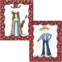 Western Artwork, Wild West, Western, Cowboy Themed Furniture, Decor For Childrens Rooms and Baby's Nursery.