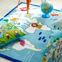 Around the World Rug, Kids Playroom Area Rugs | Bedroom Rugs | Carpet | aBaby.com