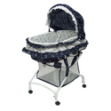2 in 1 Bassinet to Cradle, Baby Boy Bassinet Bedding | Baby Boy Bedding Sets | ABaby.com