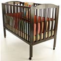 Full Size Folding Crib, Commercial Daycare and Pre-School