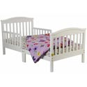 Mission Style Toddler Bed, Toddler Beds | Portable Toddler Bed | ABaby.com