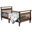 Annabelle Sleigh Toddler Bed, Toddler Beds | Portable Toddler Bed | ABaby.com
