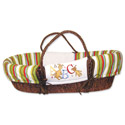 Dr. Seuss ABC Moses Basket, Moses Baskets With Stands | Baby Moses Baskets | ABaby.com