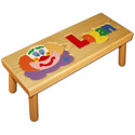 Name and Clown Puzzle Stool, Circus Fun Themed Toys | Kids Toys | ABaby.com