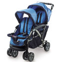 Duo Double Tandem Stroller, Multiple Strollers | Twin Strollers | Double Strollers | ABaby.com