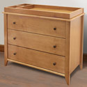Highland 3 Drawer Changer Dresser, Children's Dressers | Kids | Toddler | ABaby.Com