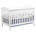 Jacob 4-in-1 Convertible Crib, Antique Baby Crib | Cradle | Designer Convertible Cribs | ABaby.com