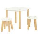 Kaleidoscope Playset Table and Stools Set, Children Table And Chair Sets | Toddler Table And Chairs | ABaby.com