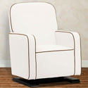 Kyoto Glider and Ottoman, Upholstered Glider Rocker | ABaby.com