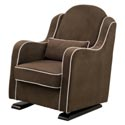 Nara Glider and Ottoman, Upholstered Glider Rocker | ABaby.com