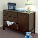 Piedmont Changer Chest, Dresser And Changing Table Combo | Nursery Dressers | ABaby.com