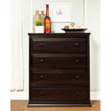 Signature 4 Drawer Tall Dresser, Children's Dressers | Kids | Toddler | ABaby.Com