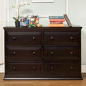 Signature 6 Drawer Double Dresser, Children's Dressers | Kids | Toddler | ABaby.Com