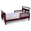 Sleigh Style Toddler Bed, Toddler Beds | Portable Toddler Bed | ABaby.com