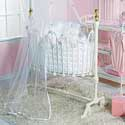 Lilac Lace Dynasty Cradle Bedding, Baby Cradle Bedding Sets | ABaby.com