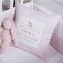 Bunny Baby Pillow, Kids Bedroom Decor | Clocks | Baby Picture Frames | ABaby.com