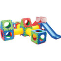 44 Piece Cube Play Set, Outdoor Toys | Kids Outdoor Play Sets | ABaby.com