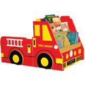 Fire Engine Book Storage, Baby Bookshelf | Kids Book Shelves | ABaby.com