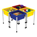 Square Sand and Water Table, Kids Learning Toys  | Educational Toys For Toddlers | ABaby.com