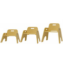 Stackable Toddler Chairs, Kids Play Chairs | Personalized Kids Chairs | ABaby.com