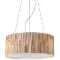 Bamboo Stem 3-Light Pendant, Pendant Light | Drum Pendant Lighting | ABaby.com