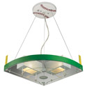 Baseball Field Pendant, Pendant Light | Drum Pendant Lighting | ABaby.com