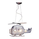 Helicopter 3-Light Pendant, Pendant Light | Drum Pendant Lighting | ABaby.com