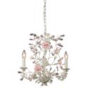 Heritage Three Arm Cream Chandelier, Nursery Lighting | Kids Floor Lamps | ABaby.com