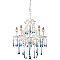 Opulence Five Arm Crystal Chandelier, Nursery Lighting | Kids Floor Lamps | ABaby.com
