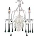 Opulence Antique White Wall Sconce, Nursery Lighting | Kids Floor Lamps | ABaby.com