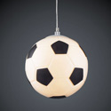 Soccer Ball Pendant Light, Sports Themed Nursery | Boys Sports Bedding | ABaby.com